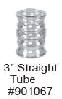 "Replacement 3"" Straight Tube for Tube Time Cage Model WA 16010"