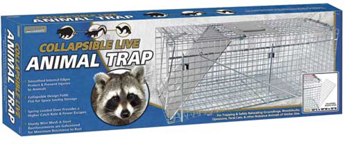 "Collapsible Live Trap 32""x 10""x12"""