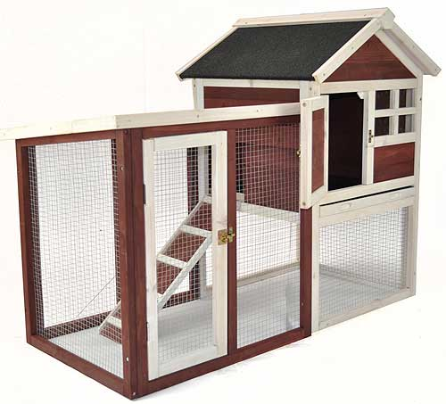 The Stilt Rabbit Hutch & Run