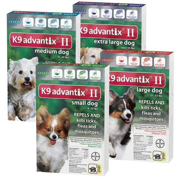 Advantix II for Dogs