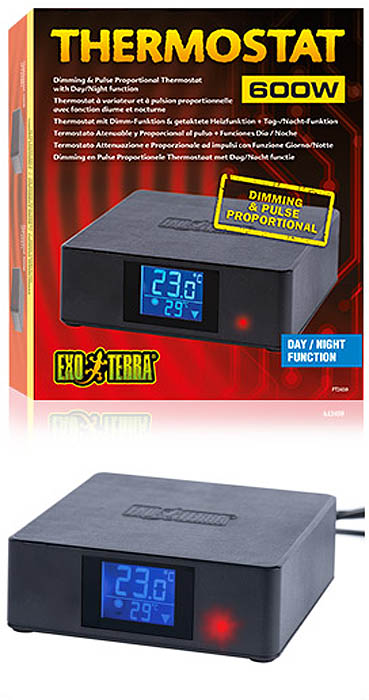 Dimming & Pulse Proportional Thermostat Day/Night Function