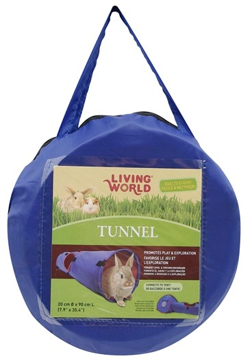 Living World Small Animal Tunnel Lg
