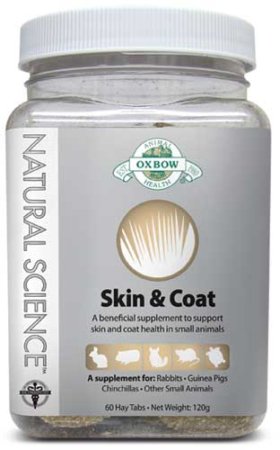 Oxbow Natural Science Skin and Coat Support 60 Tab