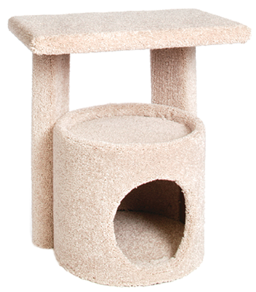 Kitty Condo with Perch