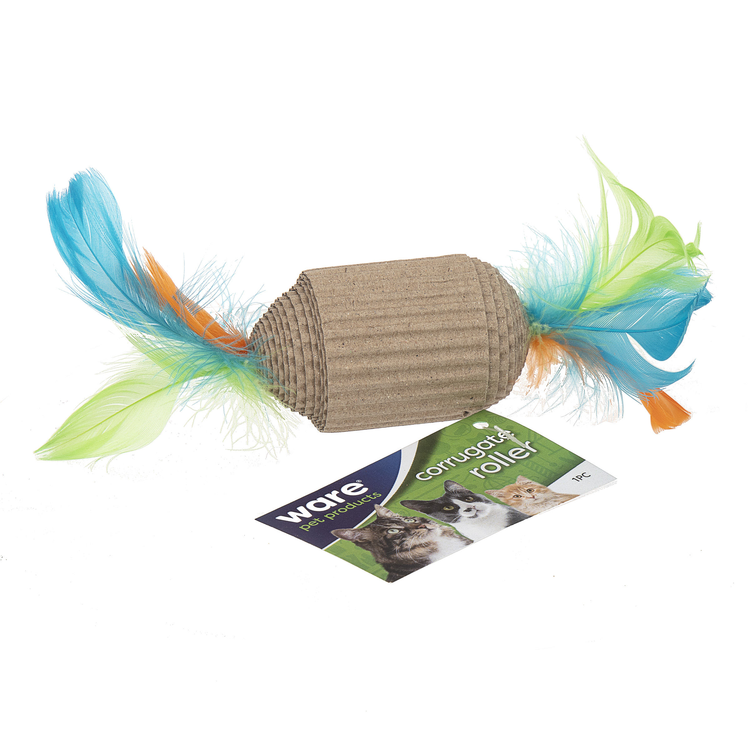 Corrugated Roller Eco Friendly Cat Toy