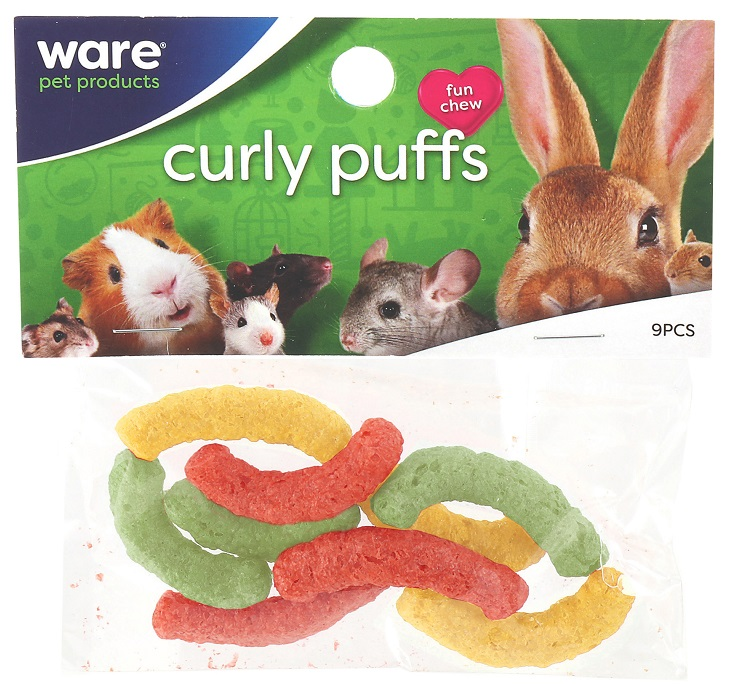 Critter Multi Color Curl Puffs