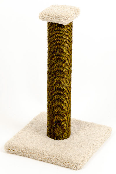 CatWare Sisal Post with Carpet Base
