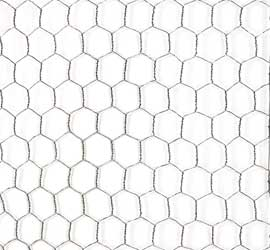 "Poultry Wire 1"" Hex Mesh GBW (Chicken Wire)"