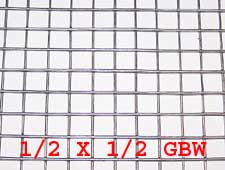 "1/2"" x 1/2"" 16 gauge GBW Wire Mesh Roll 100 ft. long"