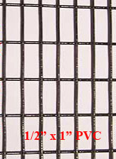 1 2 X 1 16 Gauge Pvc Coated Wire Mesh Roll 100 Ft Long