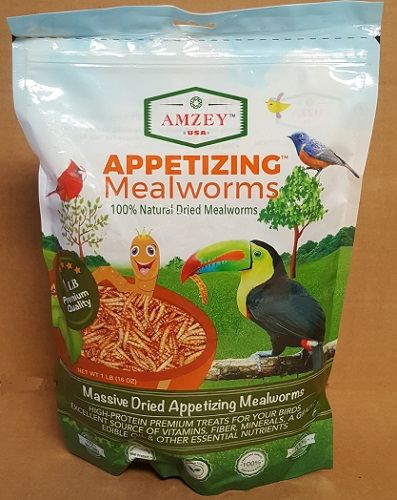 Dried Mealworms 16 oz.