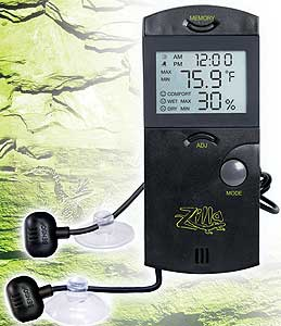 Zilla Digital Thermometer Hygrometer