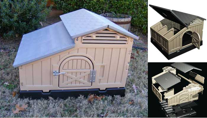 Snap Lock Chicken Coop by Formex Mfg.