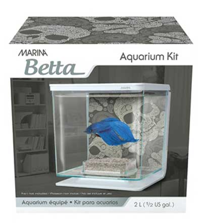 Marina Skull Betta Kit