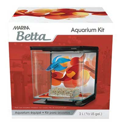 Marina Sun Swirl Betta Kit