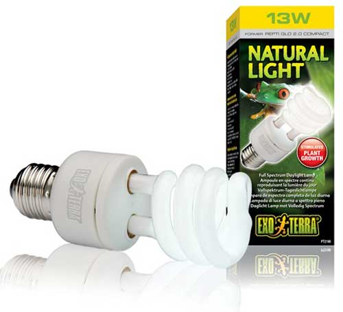 Exo-Terra Exo Terra Natural Light Compact Bulb