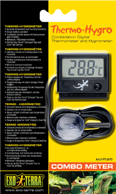 Exo Terra Digital Thermo-Hygrometer