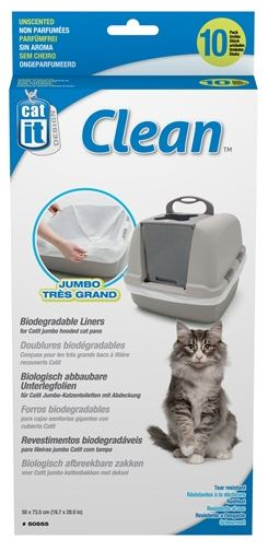 Catit Biodegradable Liners for Jumbo Cat Pan
