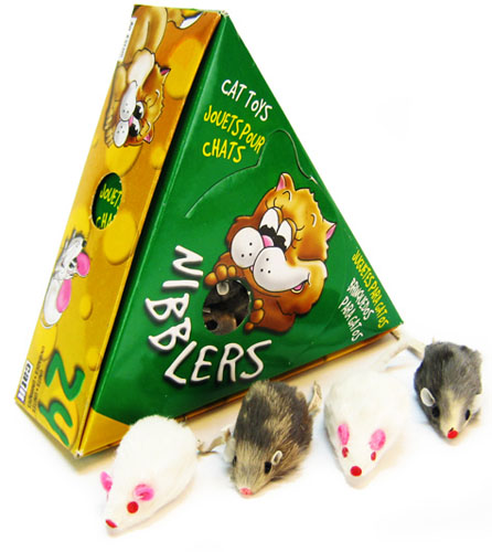 Deluxe Fur Mouse Medium 24 Pack