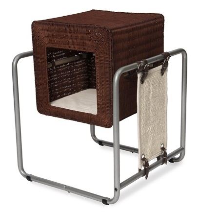 Vesper Cat Furniture, V-Cube, Rattan
