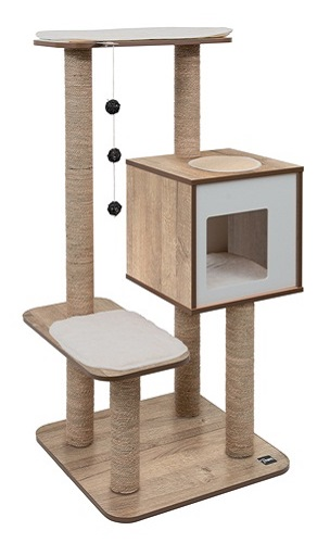 Vesper Cat Furniture V-High Base Oak