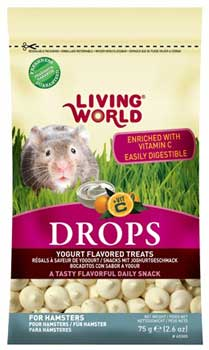 Living World Yogurt Drops for Hamsters