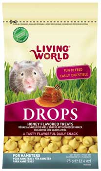 Living World Honey Drops for Hamsters