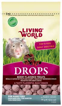 Living World Field Berry Drops for Hamsters