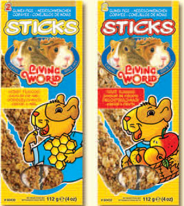 Living World Guinea Pig Sticks