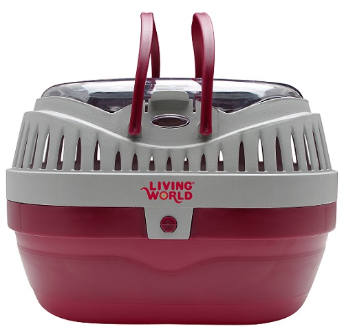 Living World Carrier Red/Grey Large