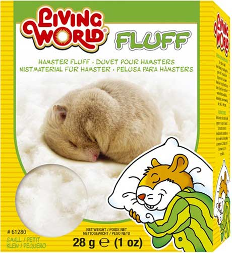 Living World Hamster Fluff