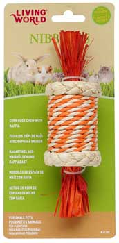 Living World� Nibblers Candy Corn Husk Chew