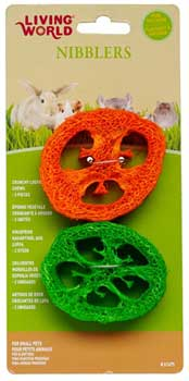 Living World� Nibblers Slices Loofah Chews