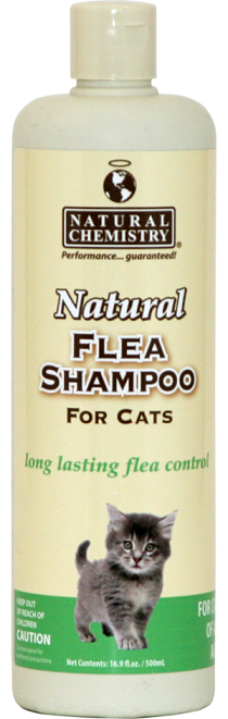 Natural Chemistry DeFlea Cat Shampoo 8oz