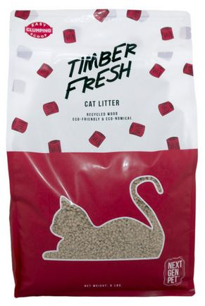Next Gen Timber Fresh Cat Litter #6
