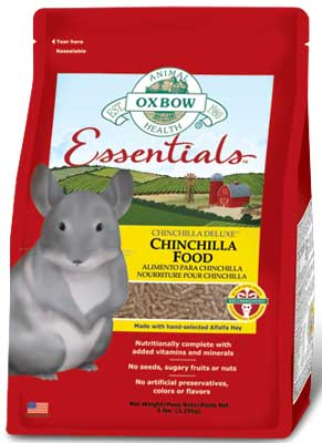 Essentials Chinchilla Food by Oxbow