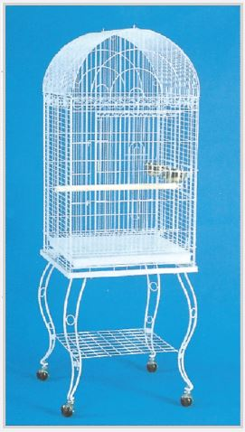 Dome Top Small Parrot Cage with Stand