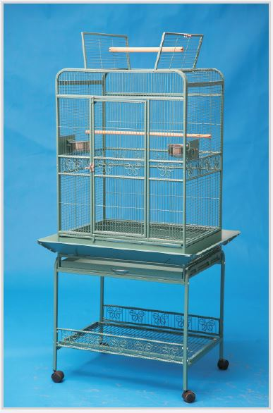 Open Top Cage with Stand