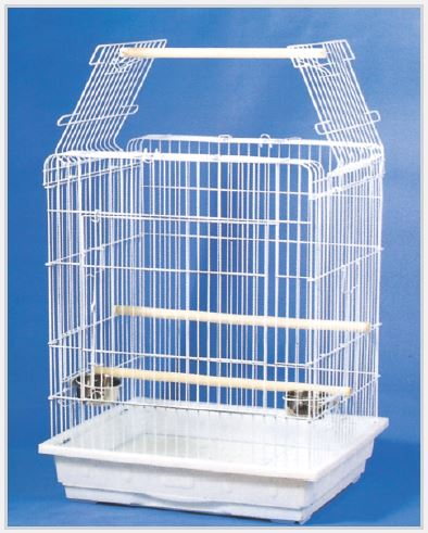 Open Top Small - Medium Parrot Cage by TSI