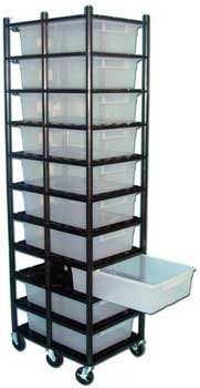 "Sterilite Rack for 32 qt. Tubs 26"" x 19"" ***"