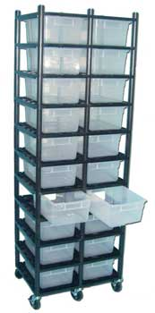 Sterilite Rack for 15 qt. Tubs 26� x 19� ***