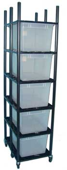 Sterilite Rack for 66 qt. Tubs 26� x 19� ***