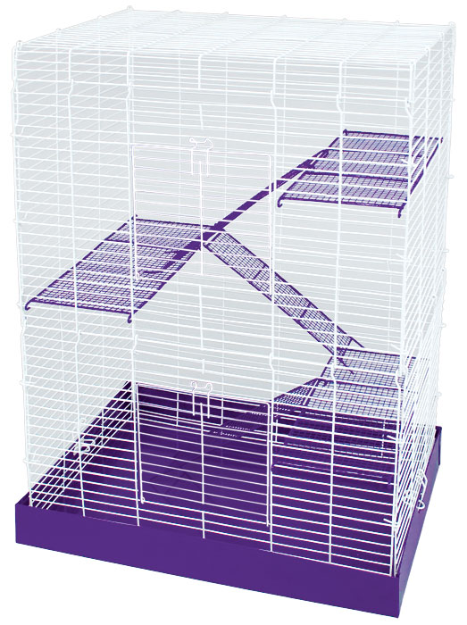 Chew Proof 4 Story Hamster Cage by Ware Mfg.