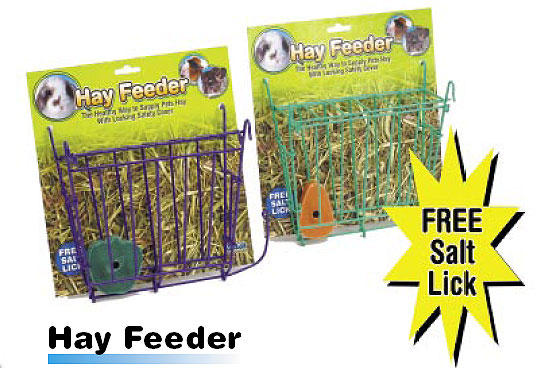 Hay Feeder with Salt Lick by Ware