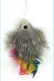 Cattachment Fur Fish Toy by Ware Mfg.