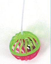 Cattachment Bell Ball Toy by Ware Mfg.
