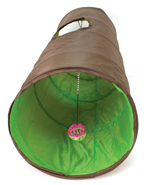 Cattachment Nylon Fun Tunnel by Ware Mfg.