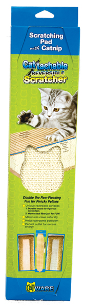 Cattachment Reversible Scratcher by Ware Mfg.