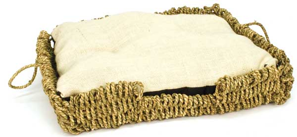 Seagrass-N-Burlap Bed by Ware Mfg.
