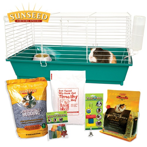 Home Sweet Home Sunseed Guinea Pig Starter Kit